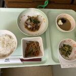 入院初日の晩ご飯